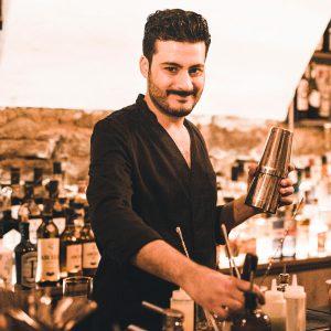 Miad Ebrahimi Inhaber der MIAD Speakeasy Bar in Karlsruhe