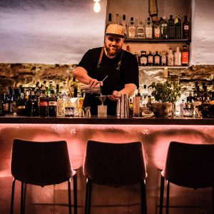 Michael Meyer Bartender des Einraum Worms